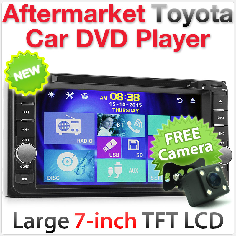 "7"" Dedicated Toyota car DVD player"