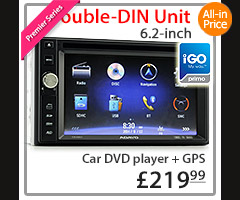 NS03GPS Double-DIN Car DVD GPS Player