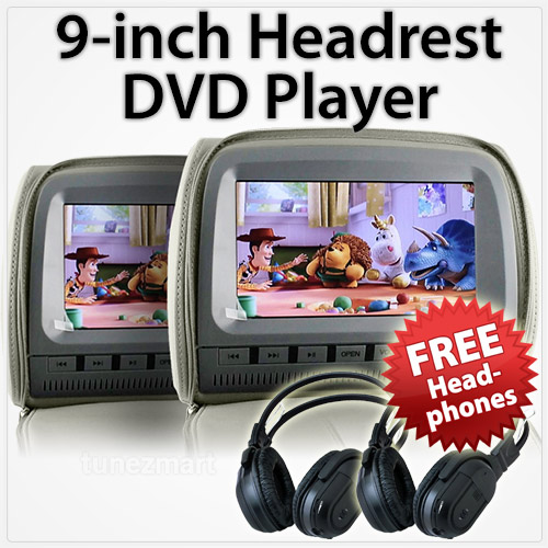"9"" Headrest DVD player"